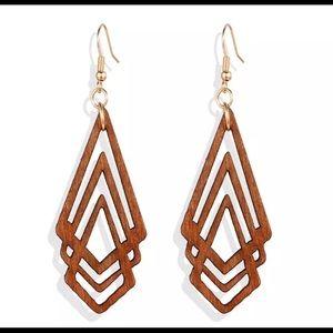 New✨ Anthropologie Wood Earrings